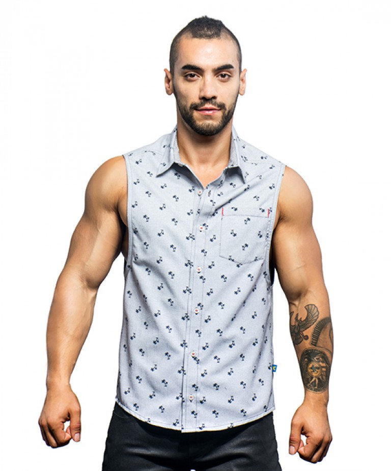 California Collection Beach Sleeveless Shirt
