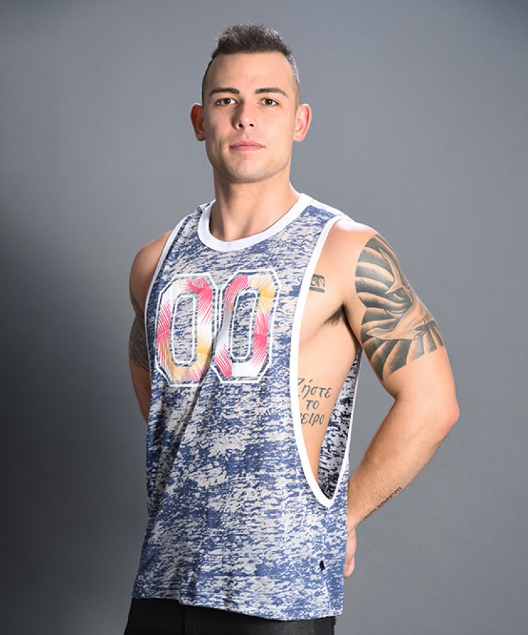Summer Burnout Gym Tank
