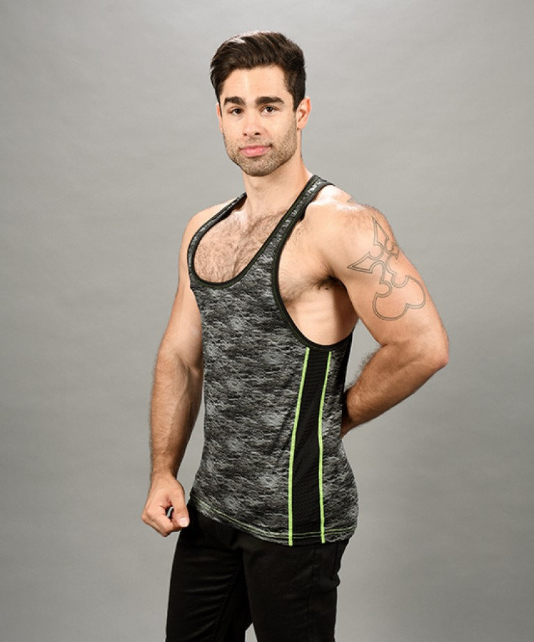 Vibe Frequency Tank Top (w/ Mesh)