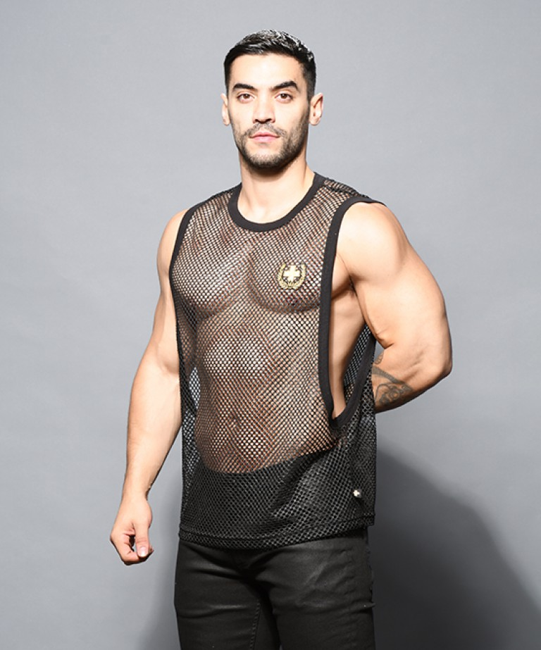 Slick Mesh Laurel Gym Tank