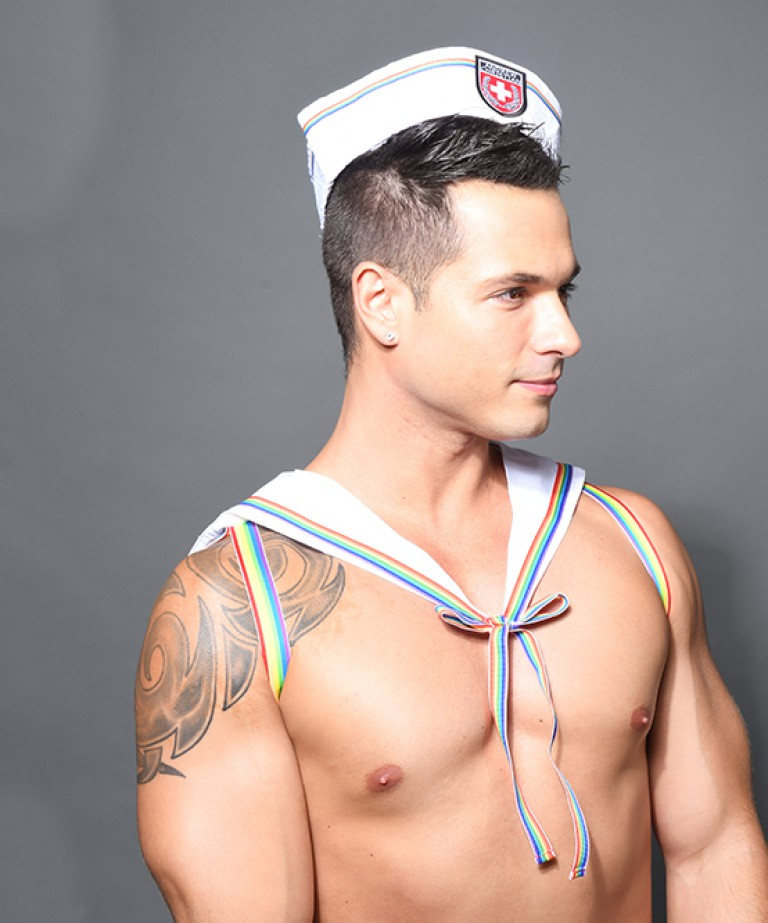 Pride Sailor Harness (Hat Not Included)