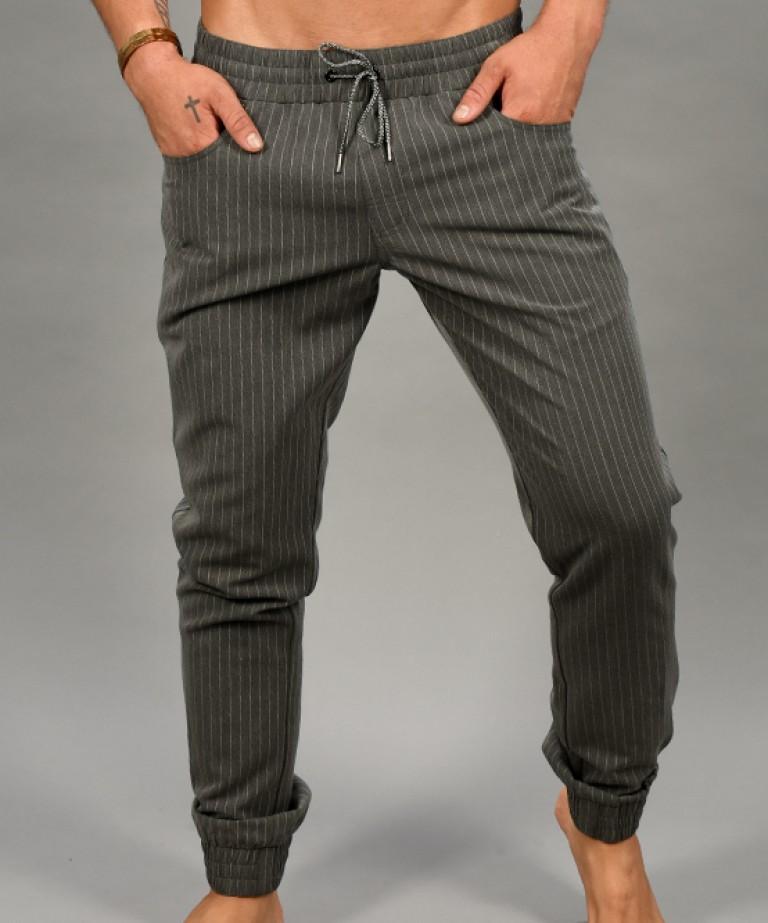 Chelsea Pinstripe Jogger Pants
