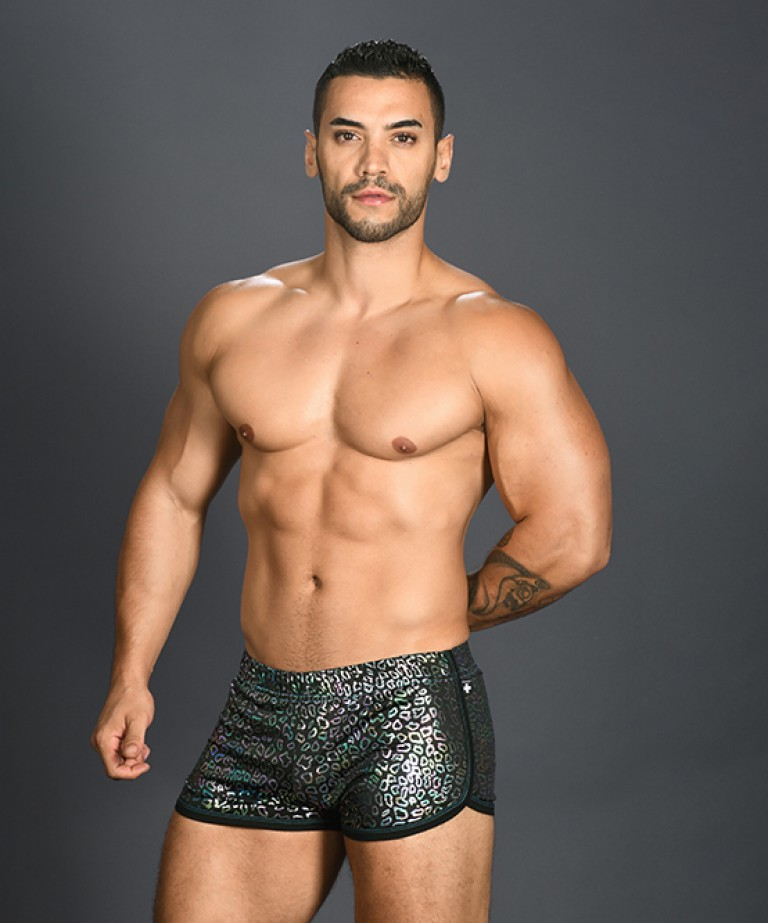 Disco Animal Jogger Shorts