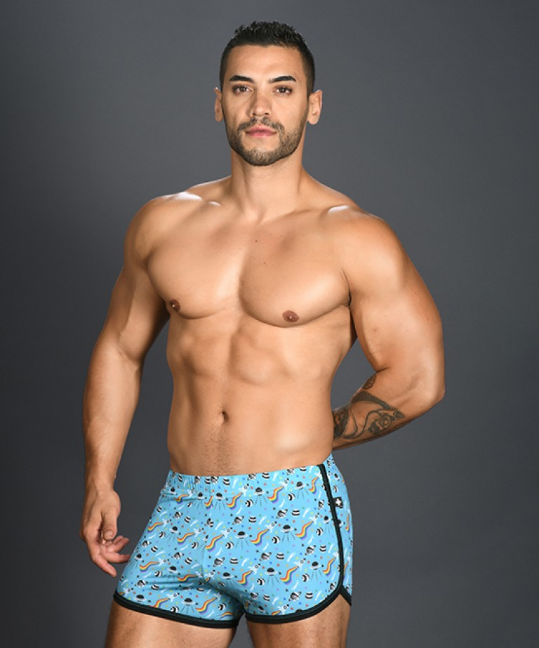 Pride In Space Jogger Shorts