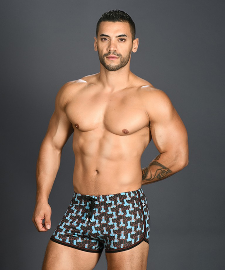 Disco Stick Jogger Shorts