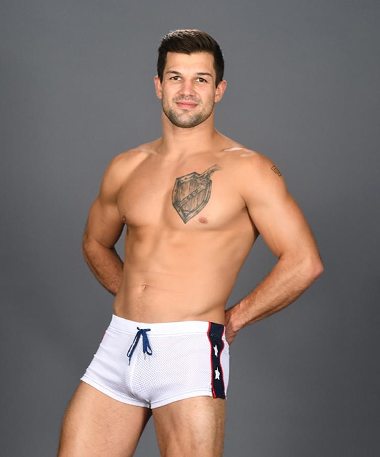 Superhero Mesh Jogger Shorts
