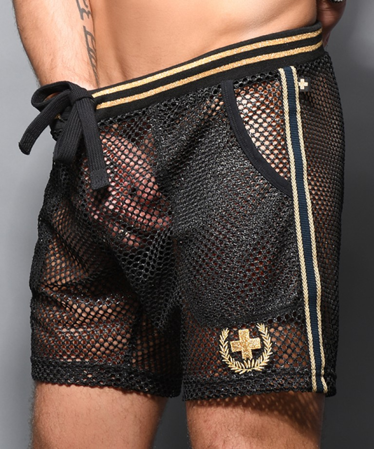 Slick Mesh Laurel Street Shorts