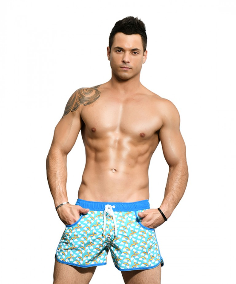 Pride Rainbow Swim Shorts