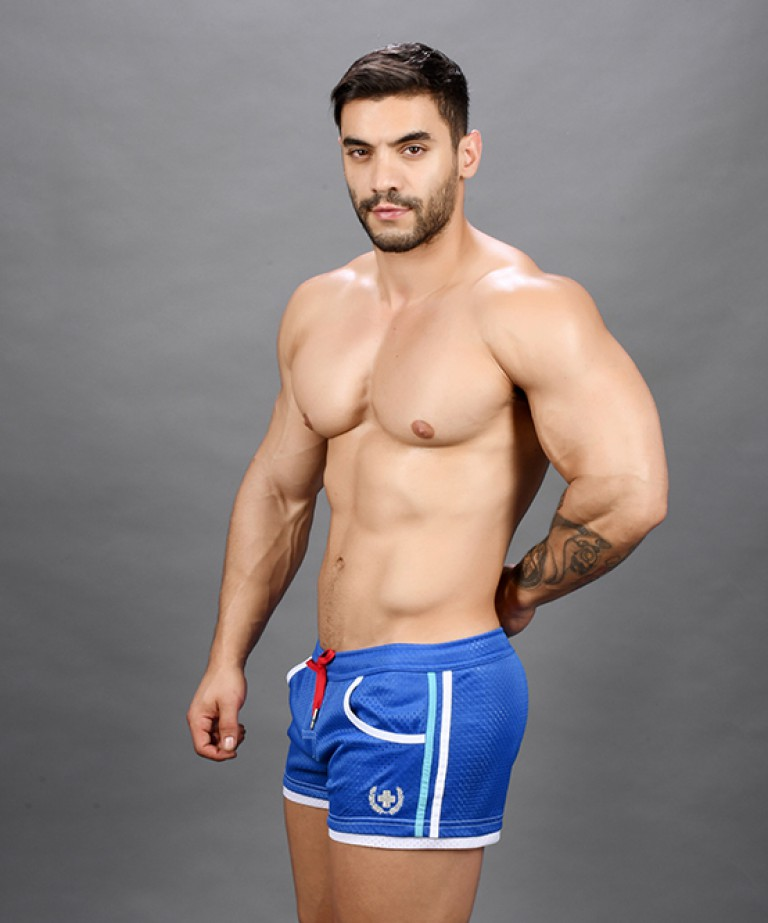 Sports Mesh Laurel Swim Shorts