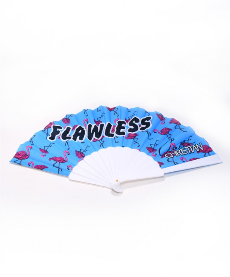 Flawless Flamingo Fan
