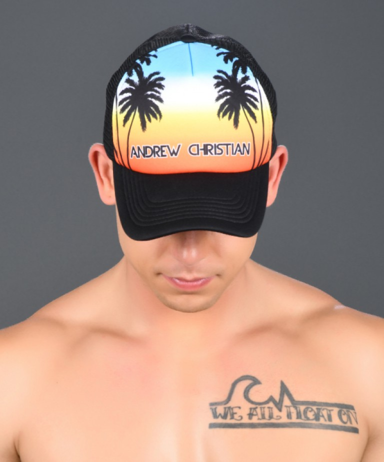 Sunset Palms Cap