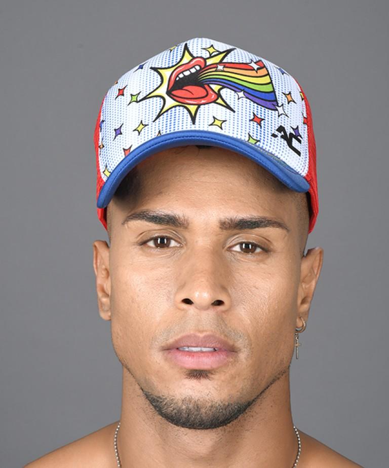 Out & Proud Rainbow Cap