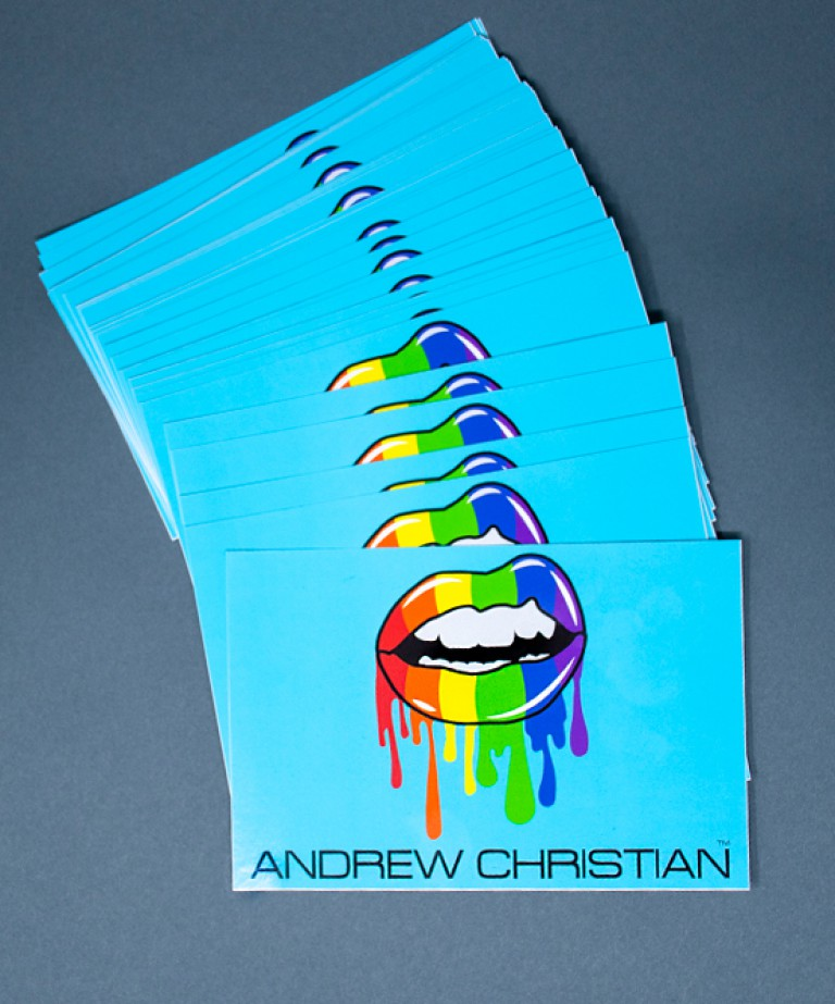 Hot Lips Pride Sticker