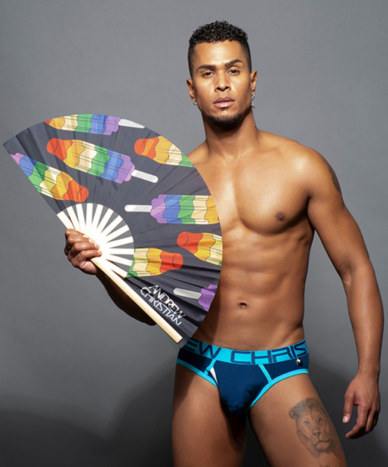 "Pride Popsicle Large Clap Fan (25"")"