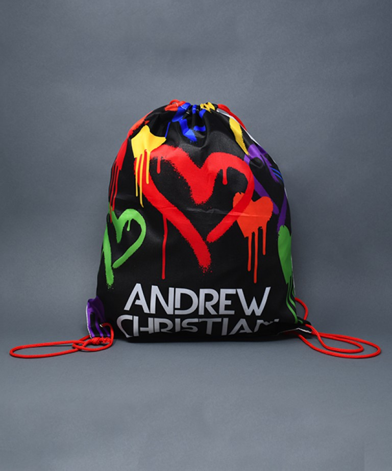 Graffiti Heart Backpack