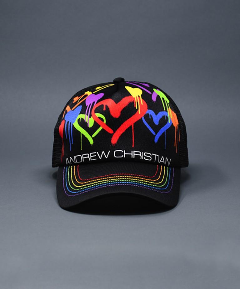 Graffiti Heart Cap
