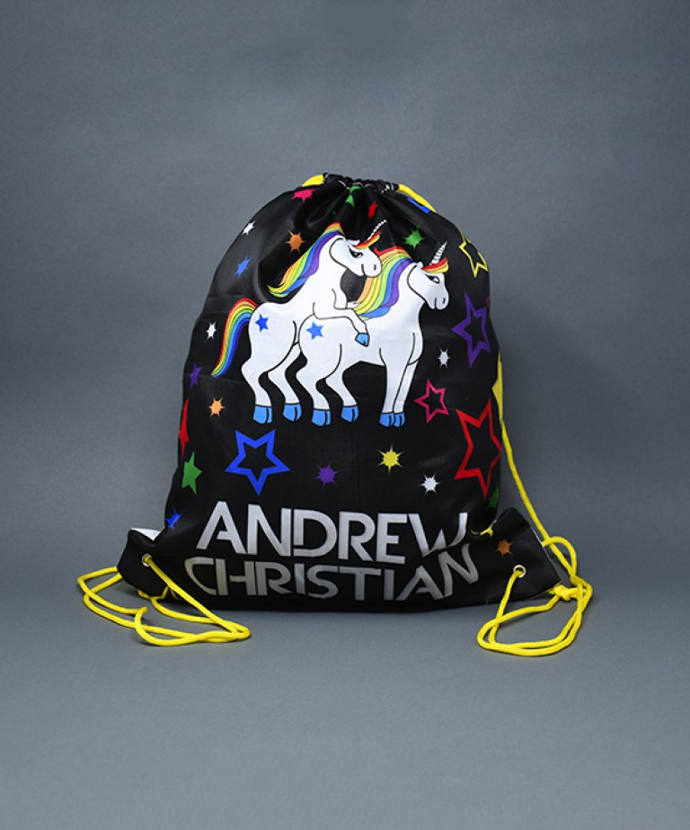 Naughty Unicorn Backpack