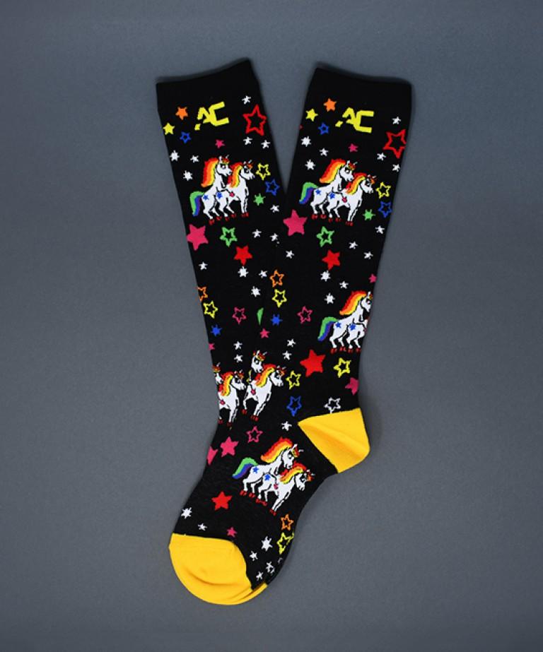 Naughty Unicorn Socks