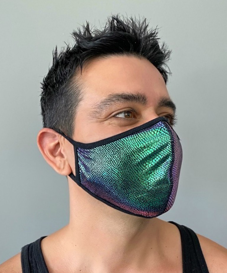Anaconda Glam Mask