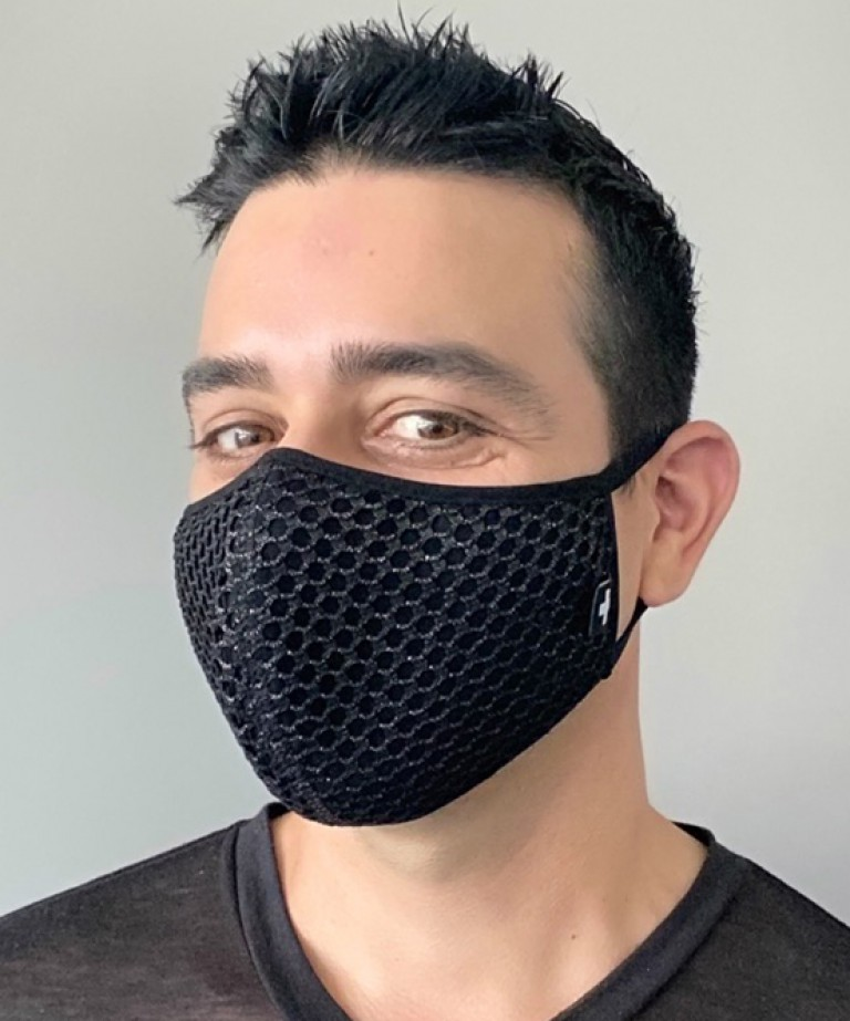 Slick Mesh Glam Mask