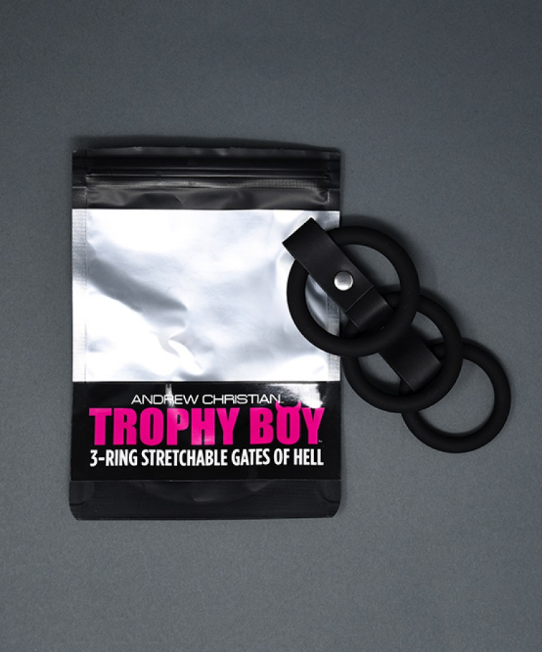 Trophy Boy 3-Ring Stretchable Gates of Hell