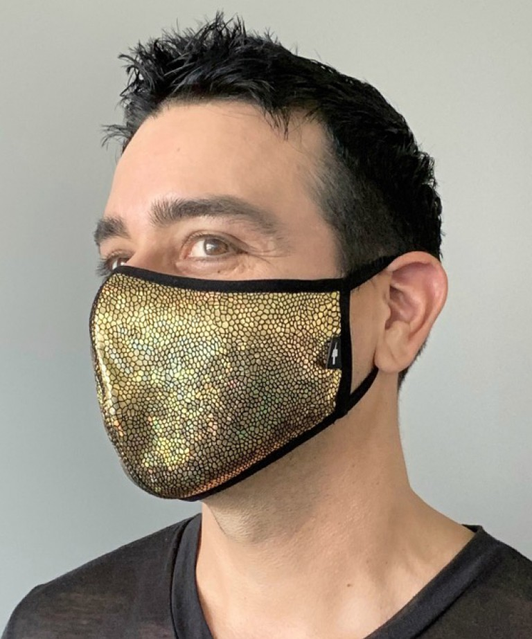 Golden Glam Mask
