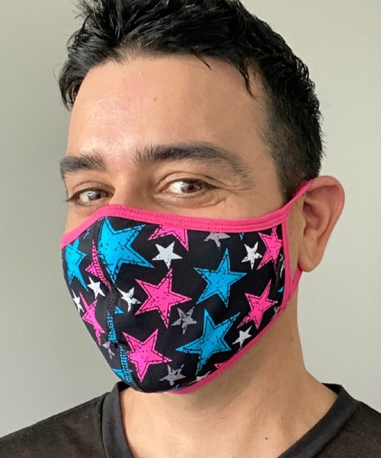 Pop Stars Glam Mask