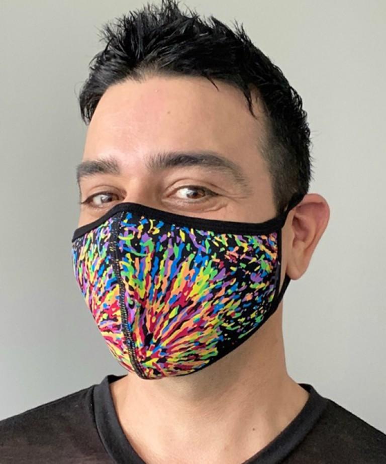 Pride Kaleidoscope Glam Mask