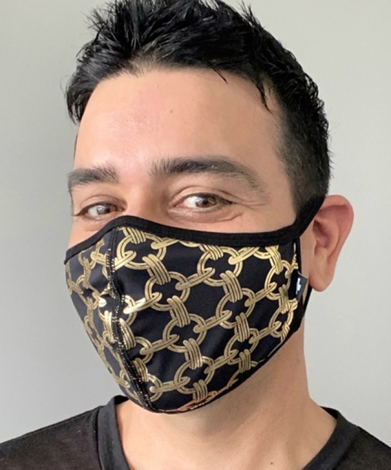 Chain Glam Mask
