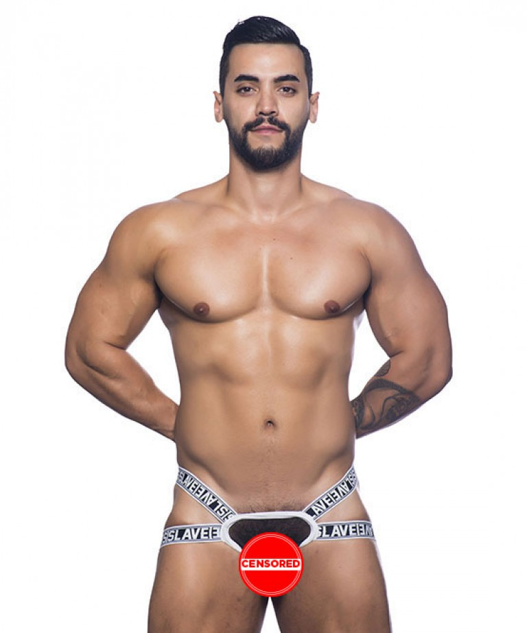Slave Y-Back Jock Thong w/ Almost Naked