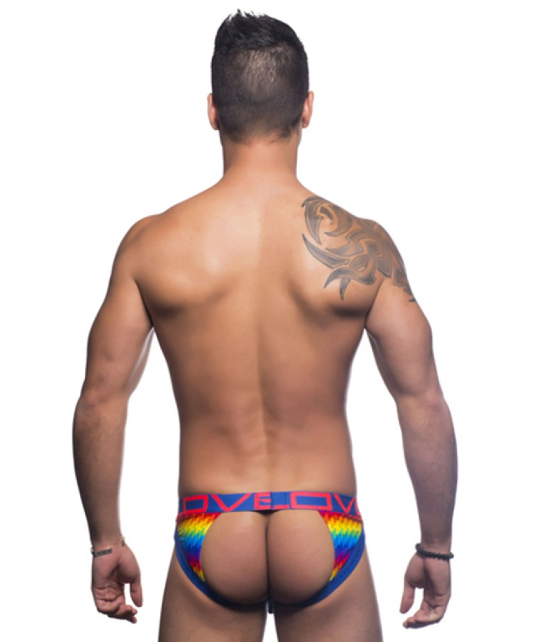 Love Digital Pride Frame Jock