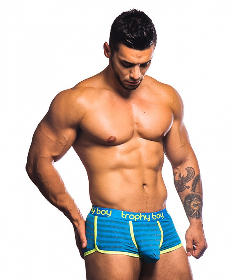 Trophy Boy Electric Stripe Boxer