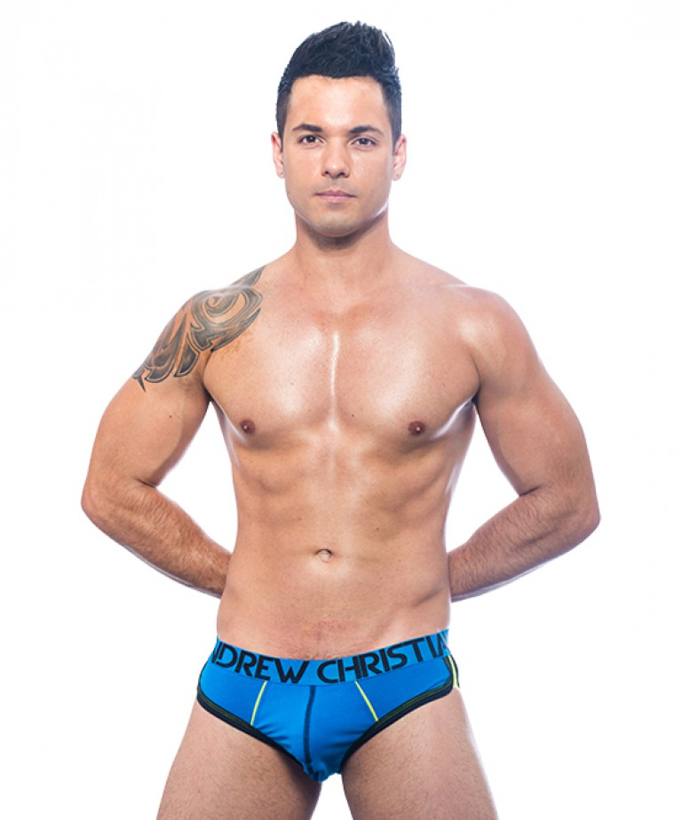 268ef0e1c Show-It Retro Pop Brief Sexy Men s Underwear