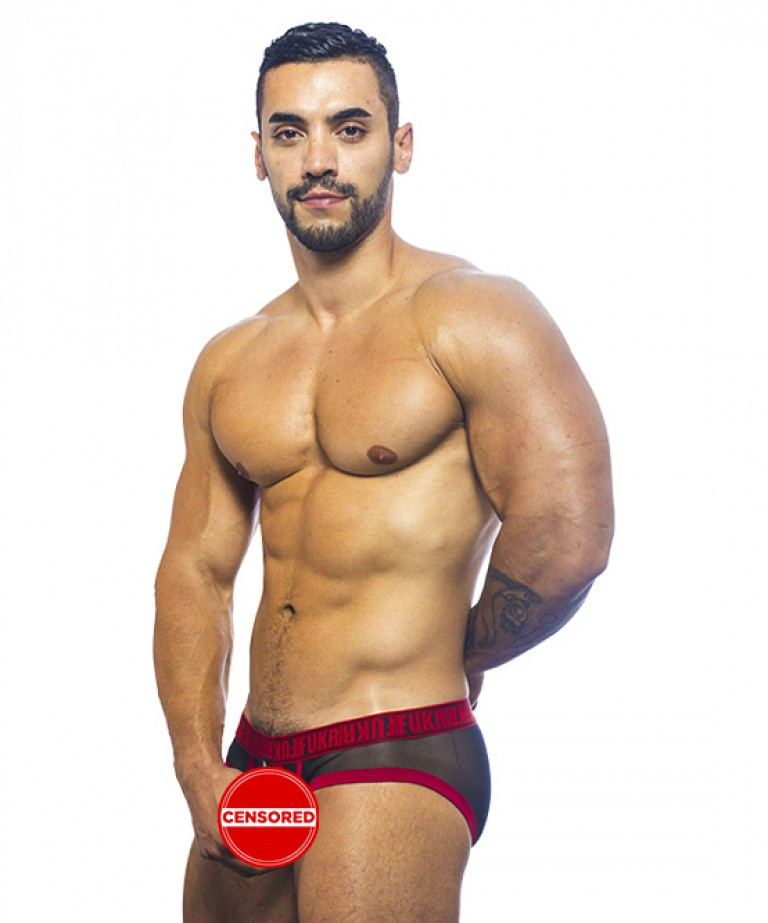 FUKR Gigolo Mesh C-Ring Brief (detachable c-ring)