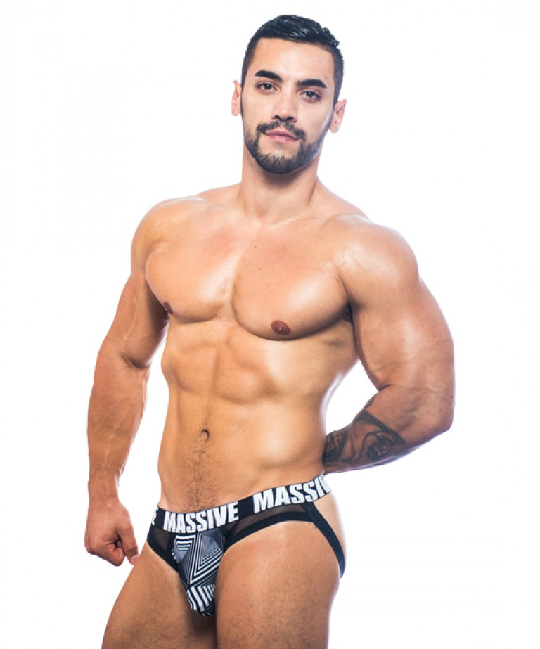 MASSIVE Optic Brief Jock (w/ Mesh)
