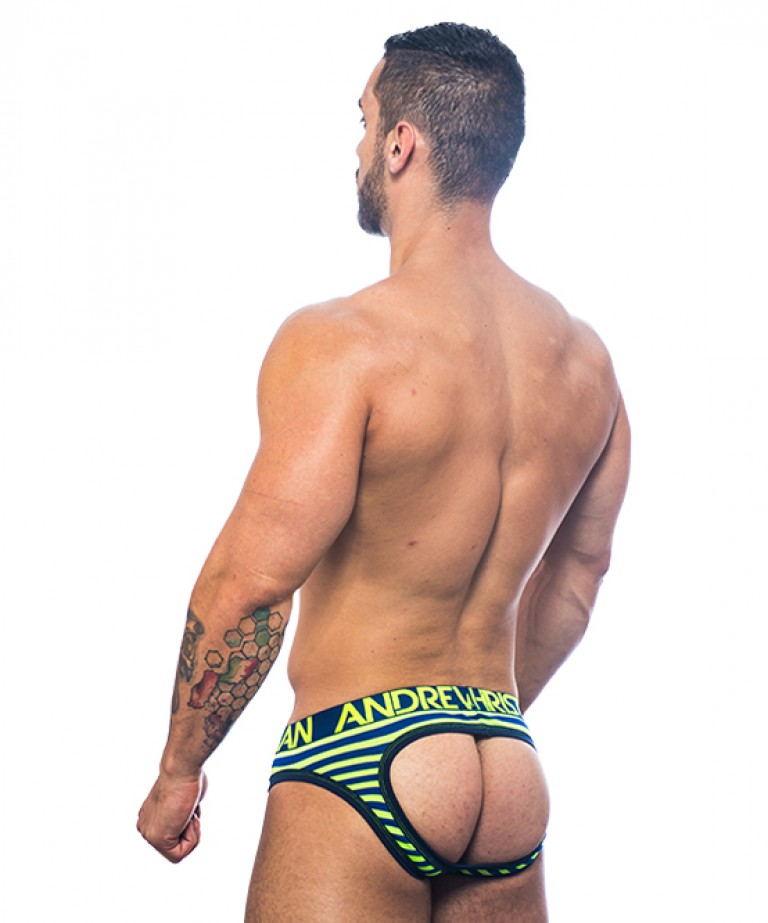 Almost Naked Electric Stripe Air Jock