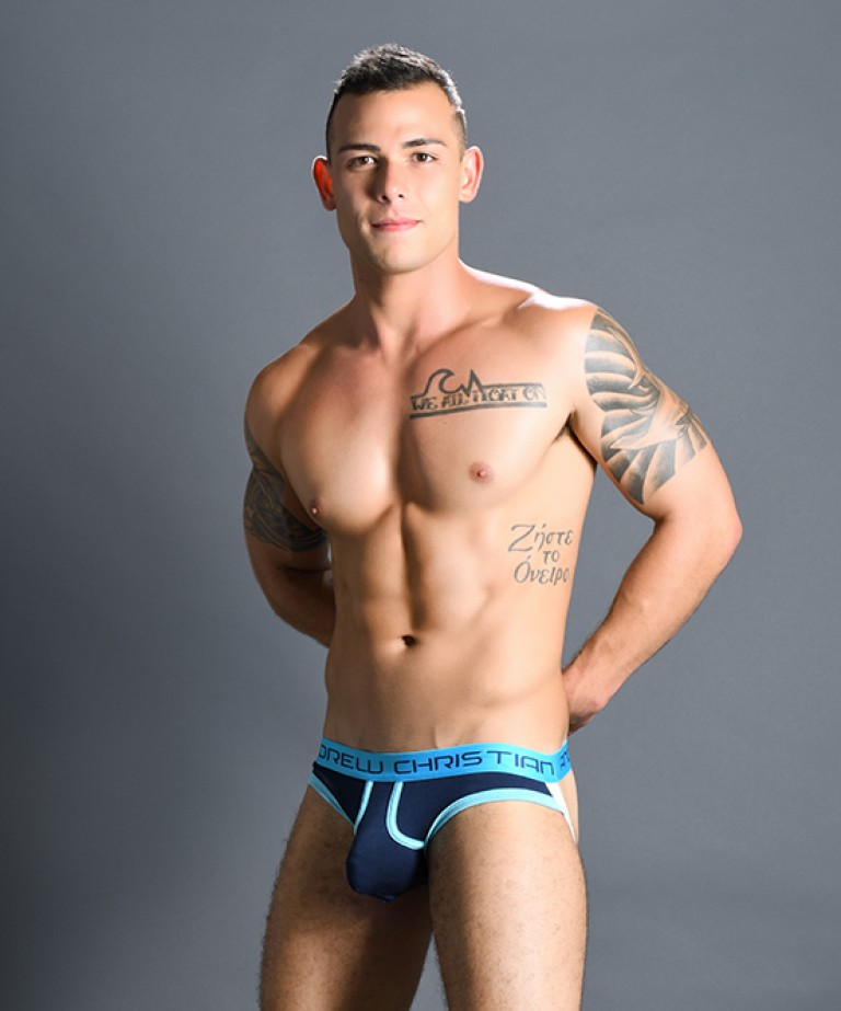 Almost Naked Retro Brief Jock