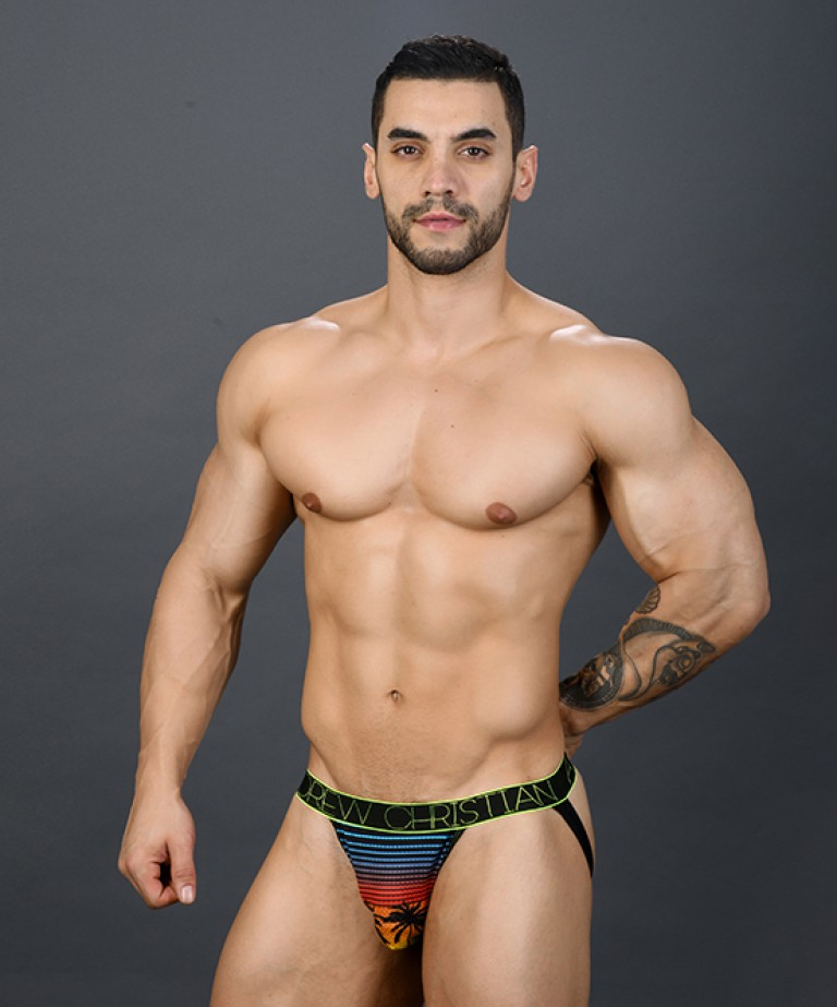 California Sunset Mesh Jock