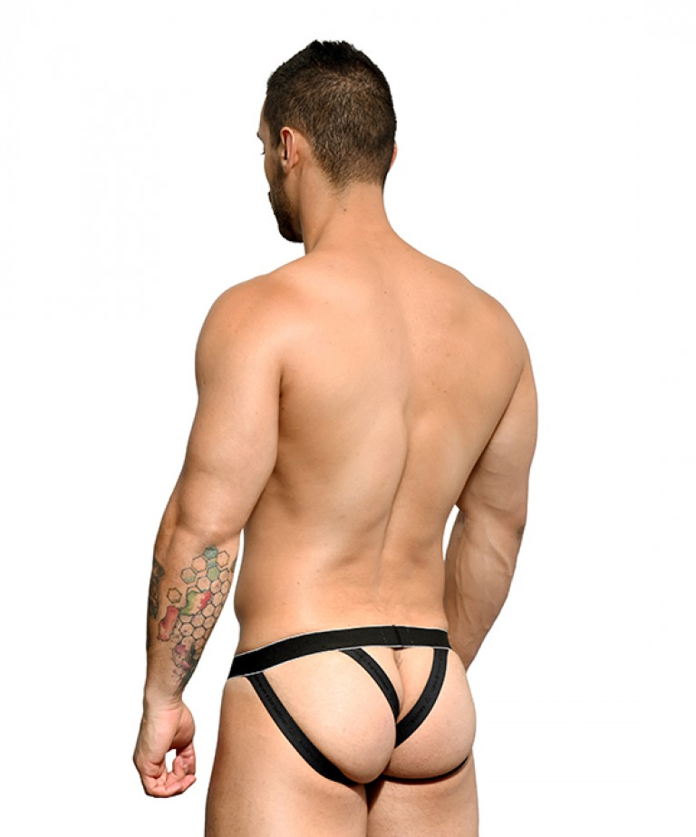 MASSIVE Glam Stripe Bubble Butt Jock