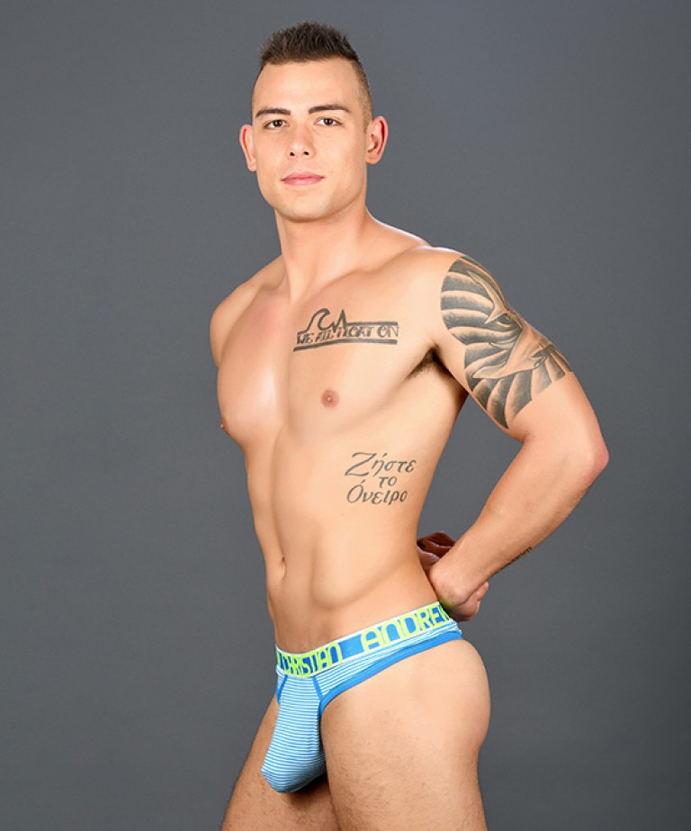 Almost Naked Shore Stripe Thong