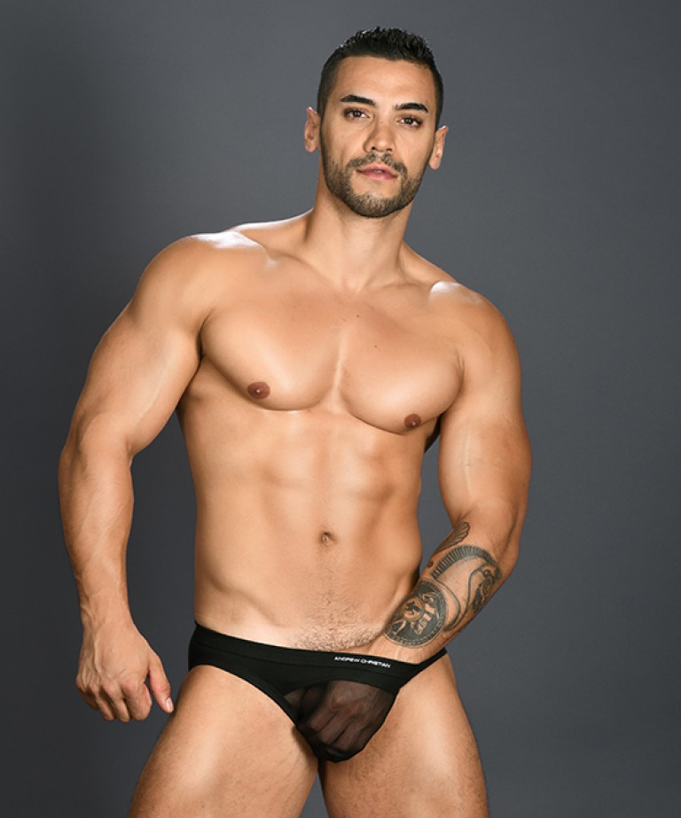 Arch Gigolo Mesh Brief w/ Almost Naked