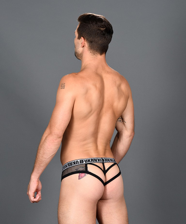 FUKR DTF Cage Mesh Thong (Login To See UNCENSORED)