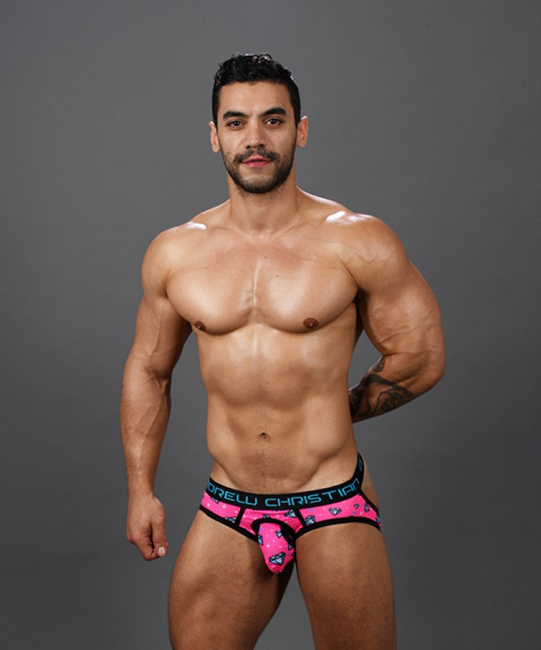 Forever Diamond Mesh Comfort Jock w/ Almost Naked