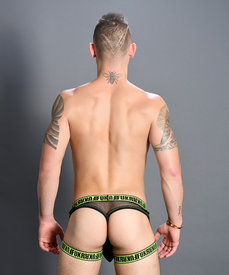 FUKR Strap Net Thong