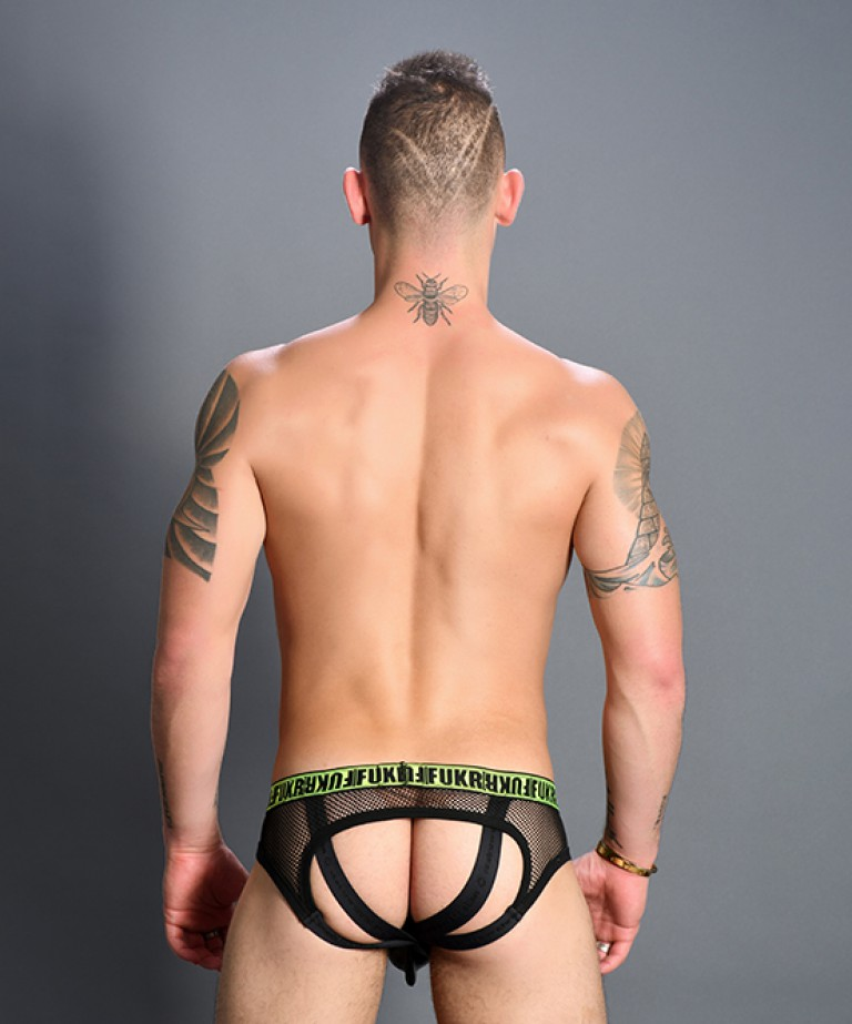 FUKR Bubble Butt Net Jock