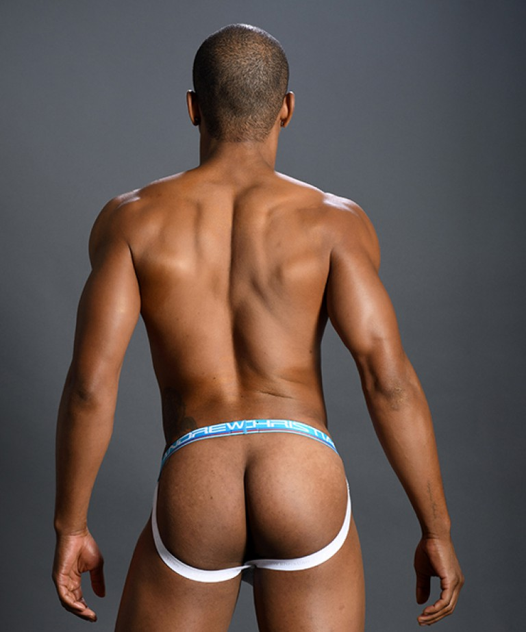 Almost Naked Retro Mesh Brief Jock