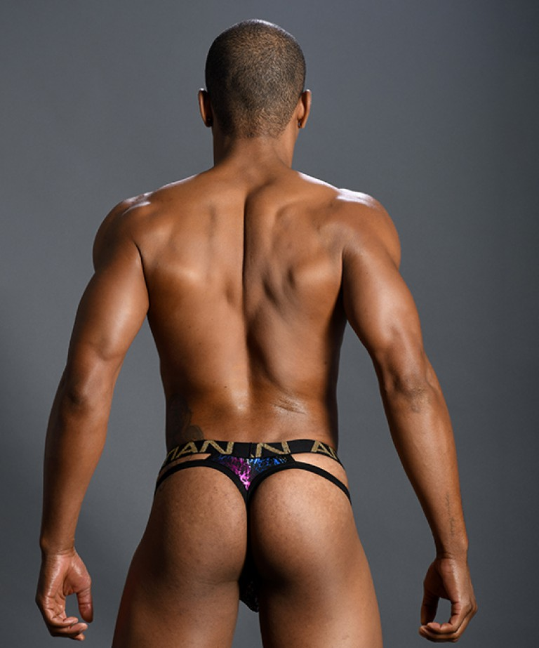 Disco Spectrum Spider Thong w/ Almost Naked