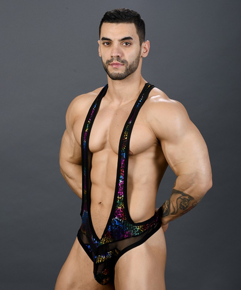 Disco Spectrum Thong Singlet w/ Almost Naked