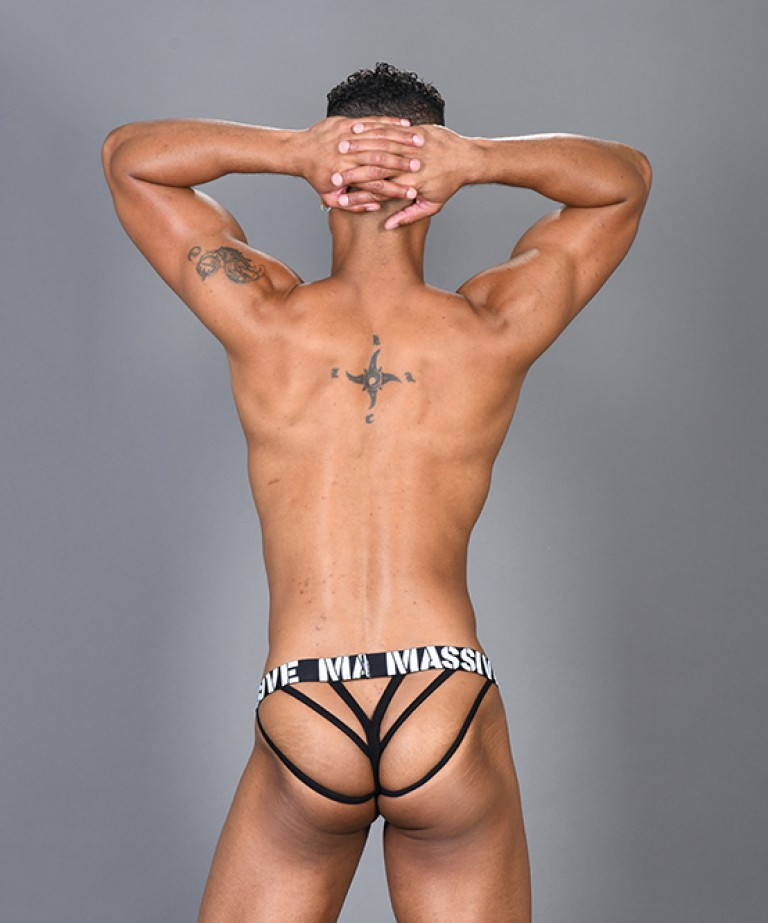 MASSIVE Party Animal Mesh String Thong