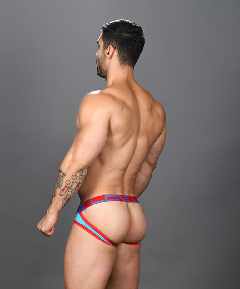 Love Pride Heart Comfort Jock w/ Almost Naked